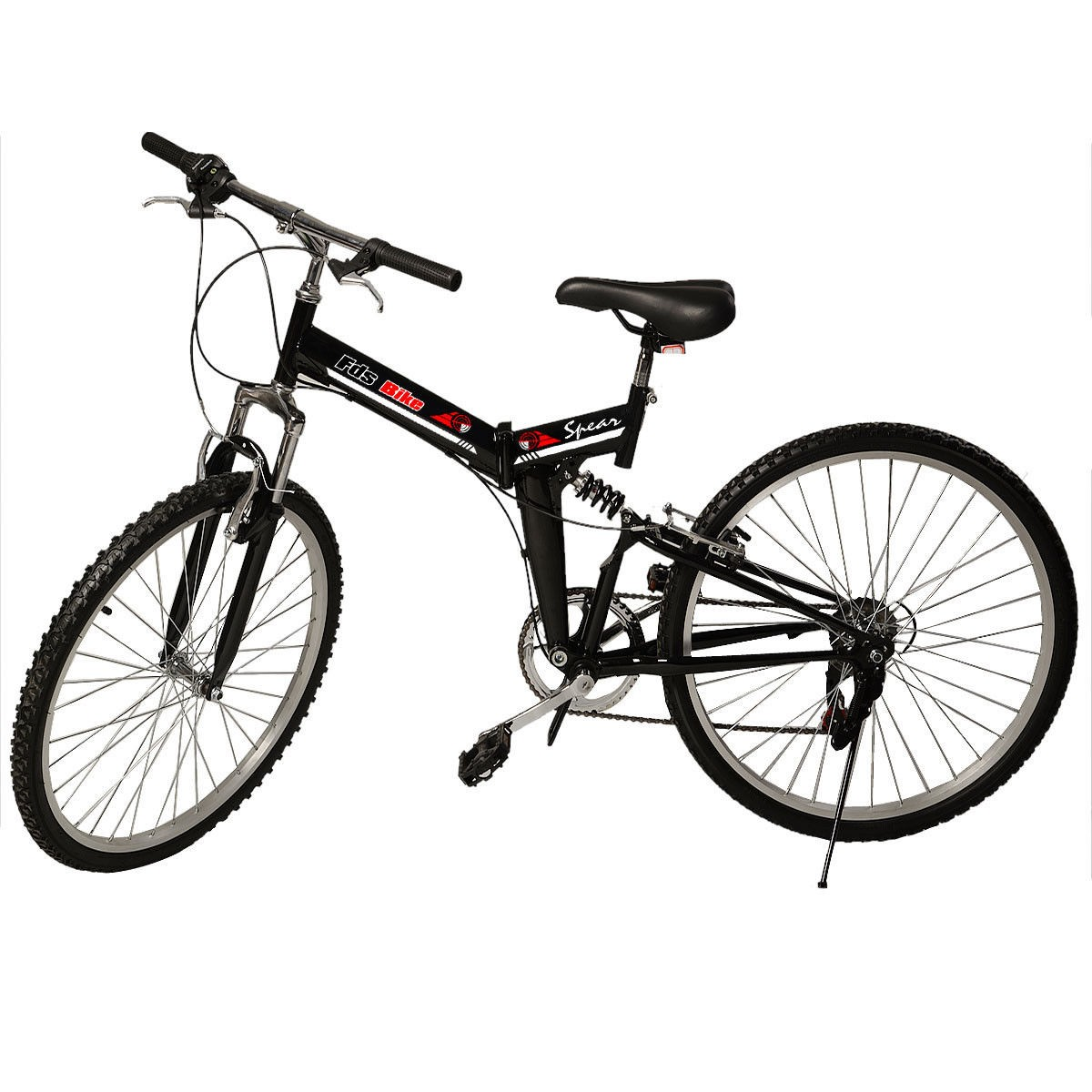 "New 26"" Folding 6 Speed Mountain Bike Bicycle Shimano Sch..."