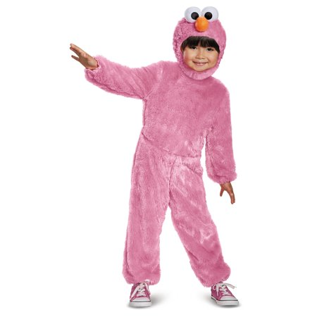Pink Elmo Comfy Fur Child Costume - Size 4-6X](Elmo Costume Kids)