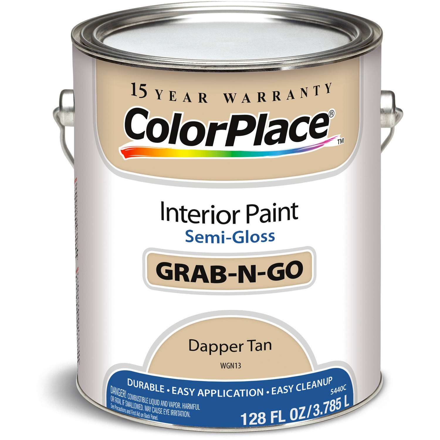 Colorplace Dapper Tan Semi Gloss Interior Paint, 1-Gallon