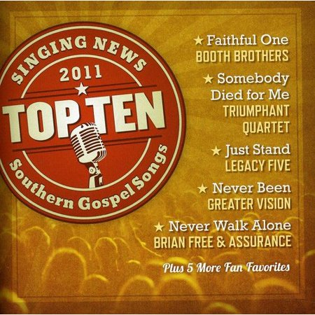Singing News Top Ten Southern Gospel Songs / Var](Top Ten Halloween Songs Uk)