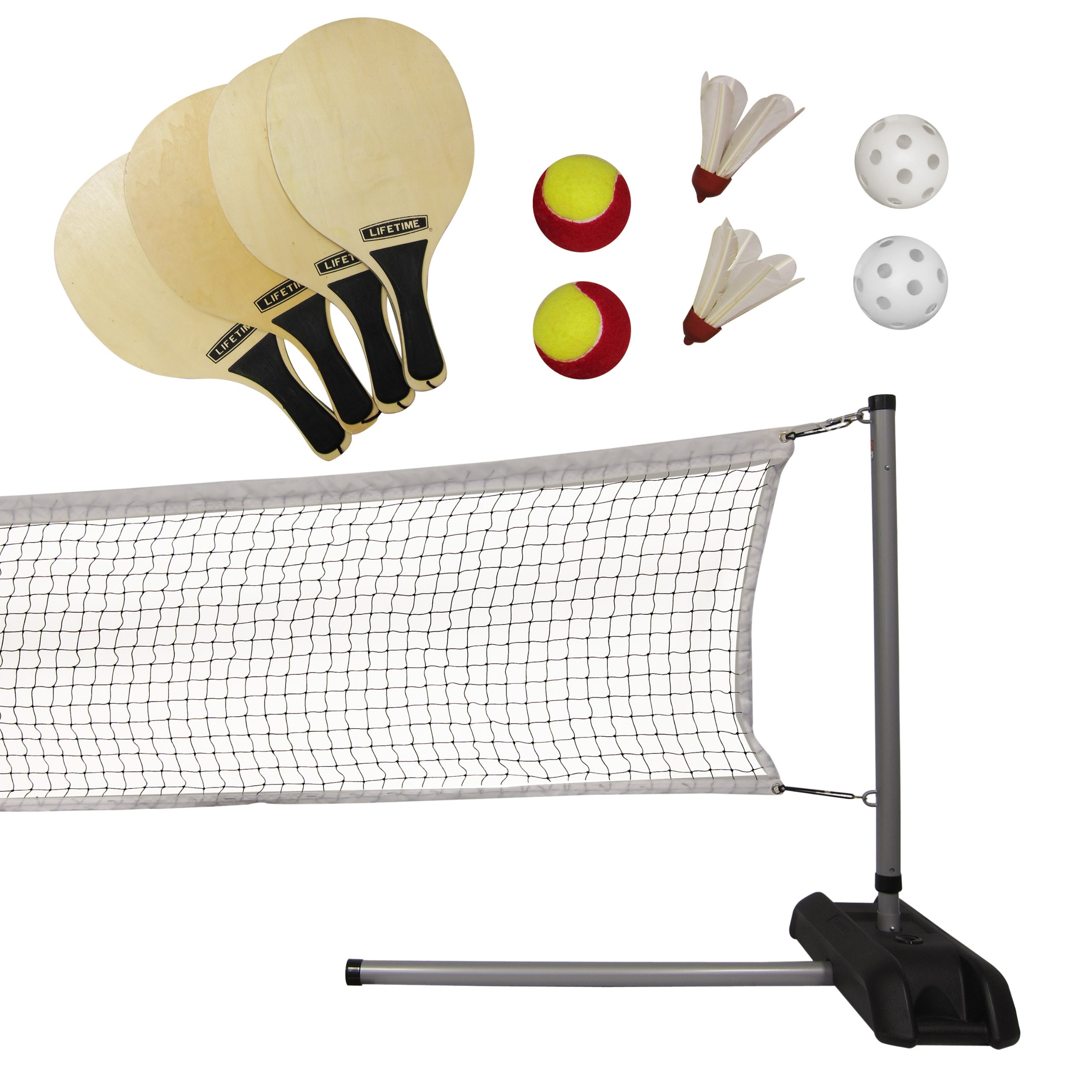 Lifetime Outdoor Games Set with Paddles, 90421
