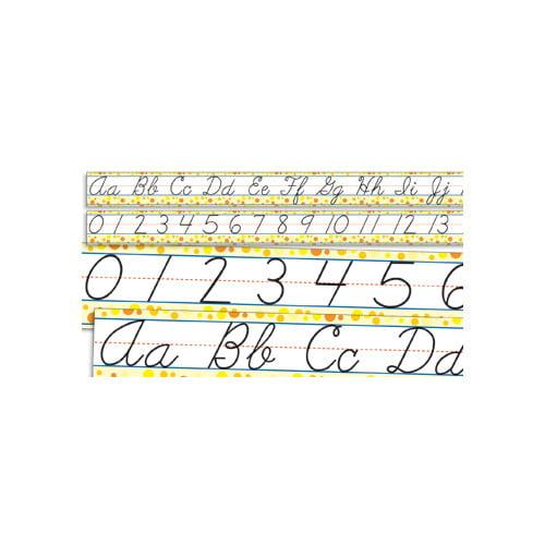 Teachers Friend Standard Cursive Letters and Numbers