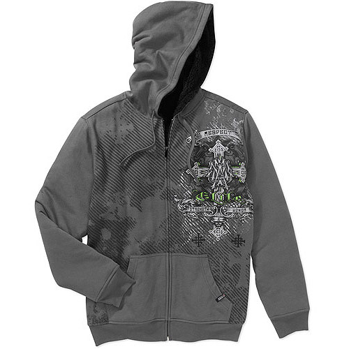Mma Elite - Big Men's Fleece Sherpa Hood