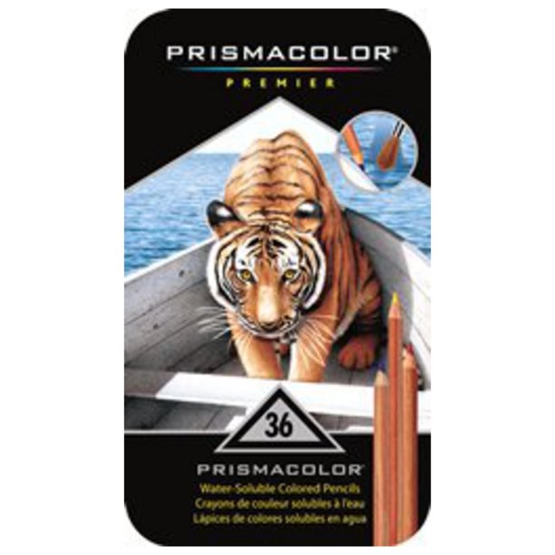 Prismacolor Watercolor Pencil Set, 36-Colors