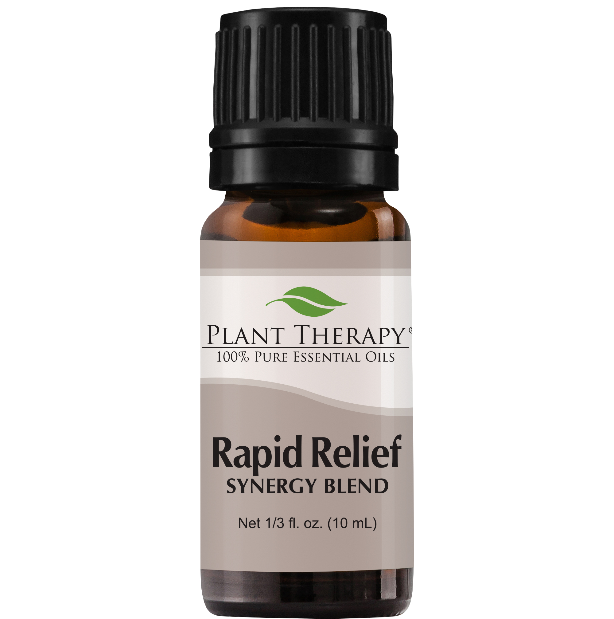 Plant Therapy Essential Oil | Rapid Relief Synergy | Pain and Soreness Blend | 100% Pure, Undiluted | 10 mL (1/3 oz)