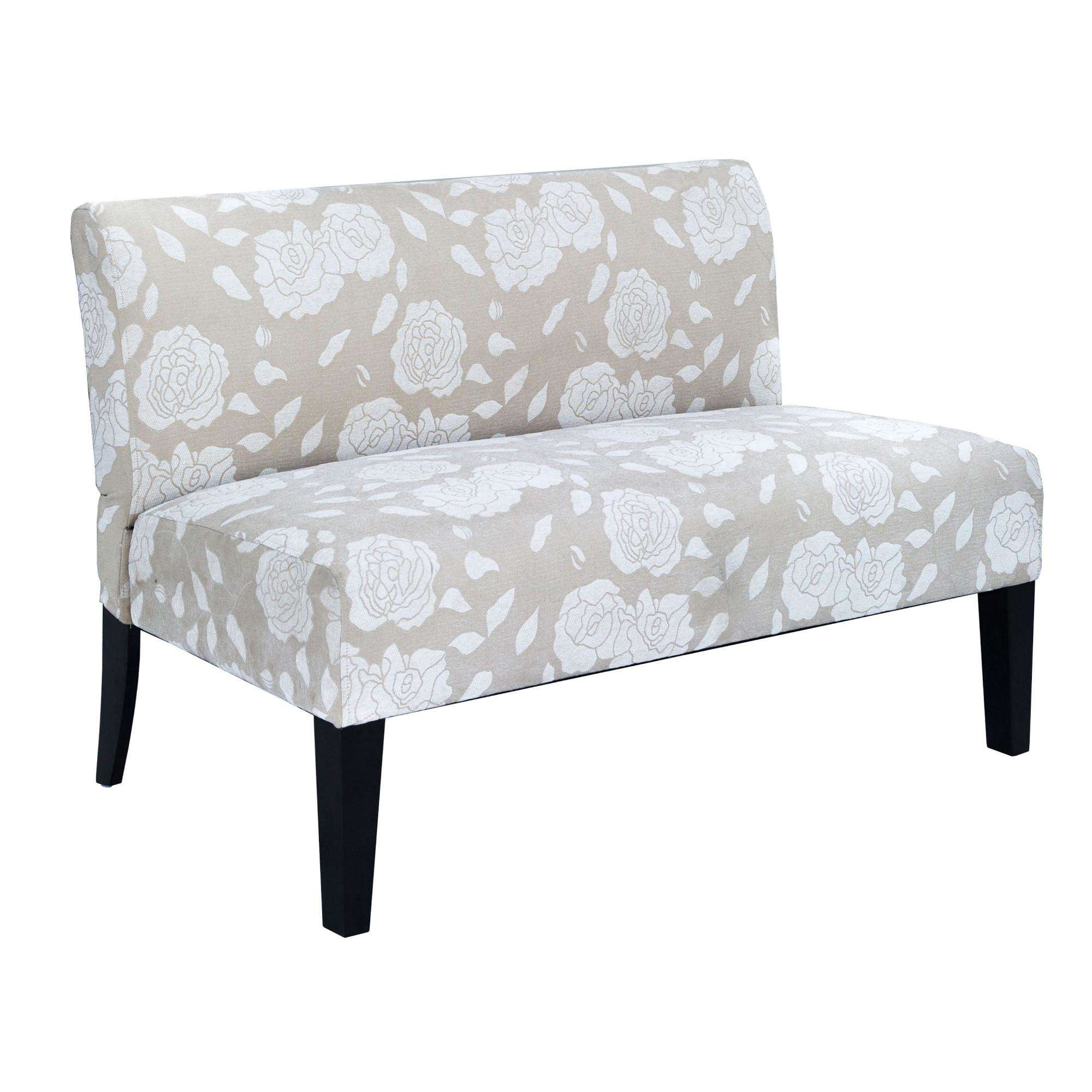 """DHI 47"""" Rose Deco Upholstered Loveseat, Multiple Colors by Dwell Home Inc."""