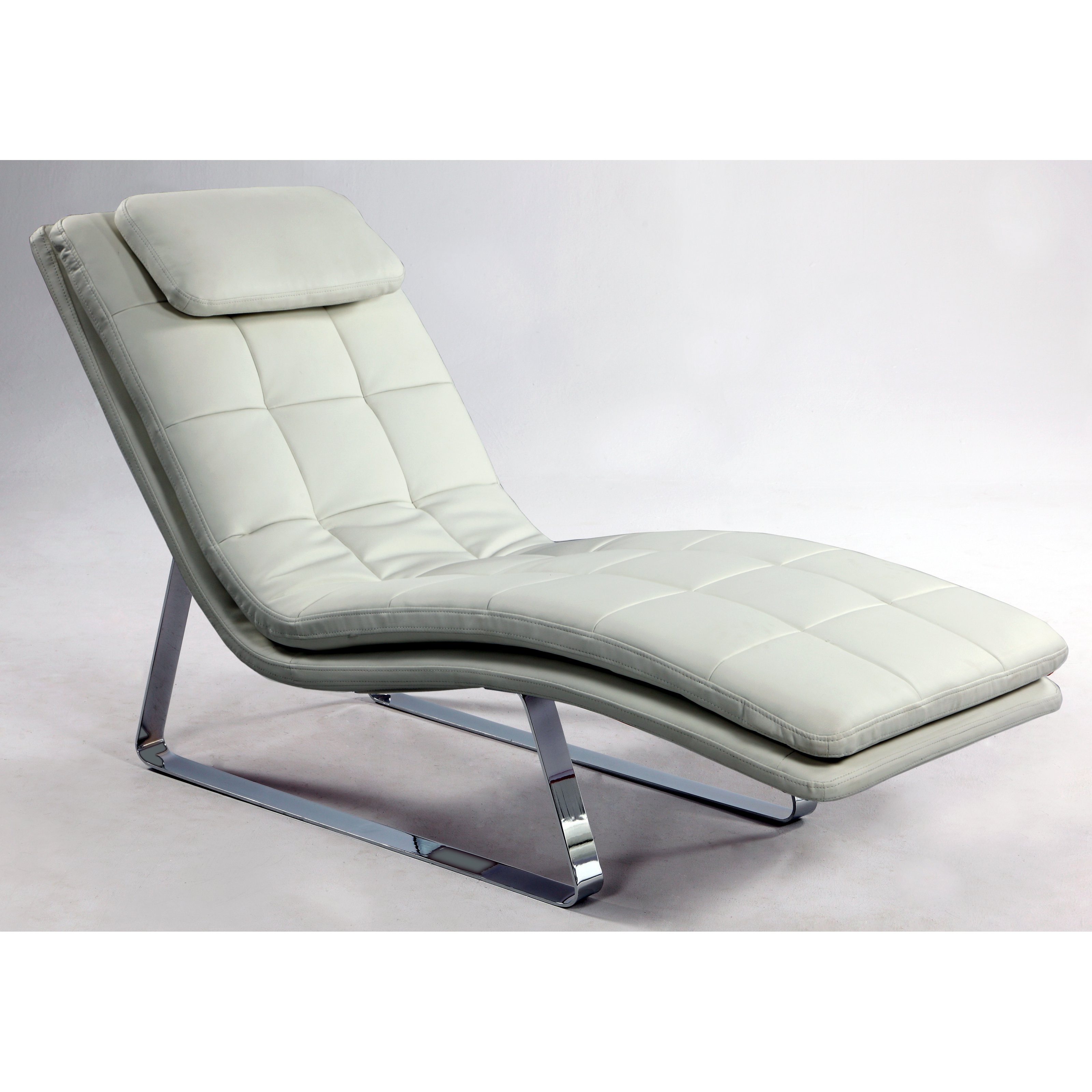 Chintaly Corvette Upholstered Chaise Lounge