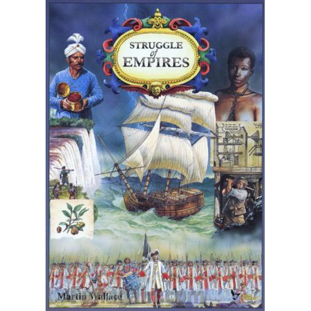 Struggle Of Empires Strategy Board Game Eagle Games - image 1 of 1
