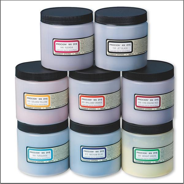 Cold Water Dye 8 Oz Set Of 8