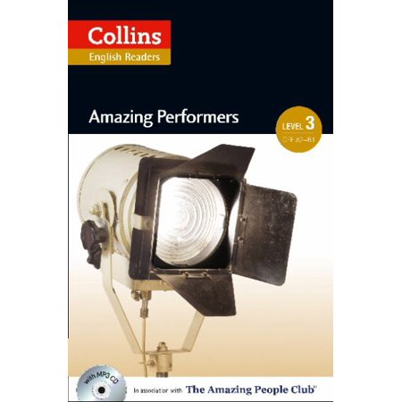 Amazing Performers (Collins English Readers, Level 3) - image 1 de 1