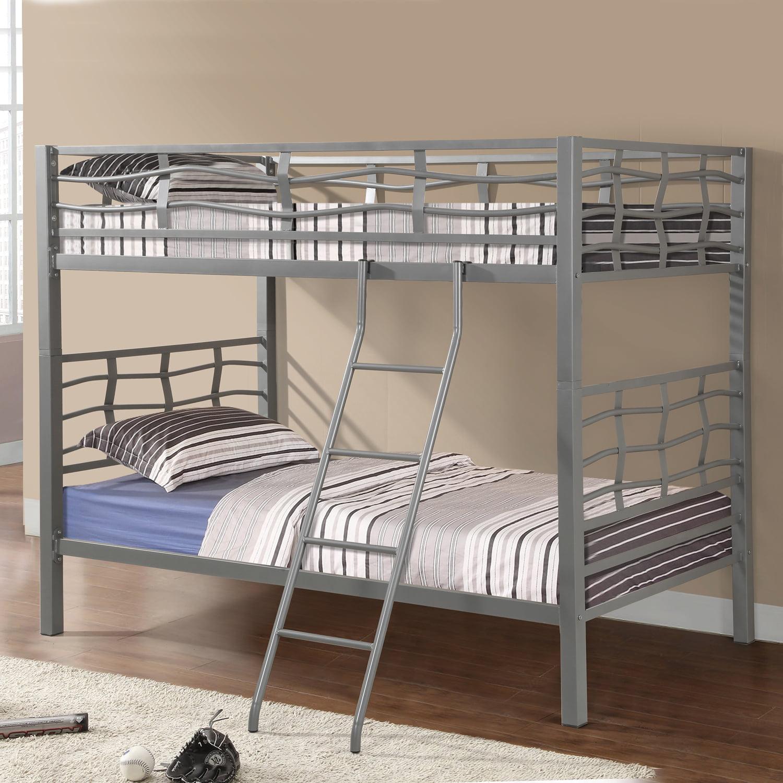 Home Source Black Bunk Bed