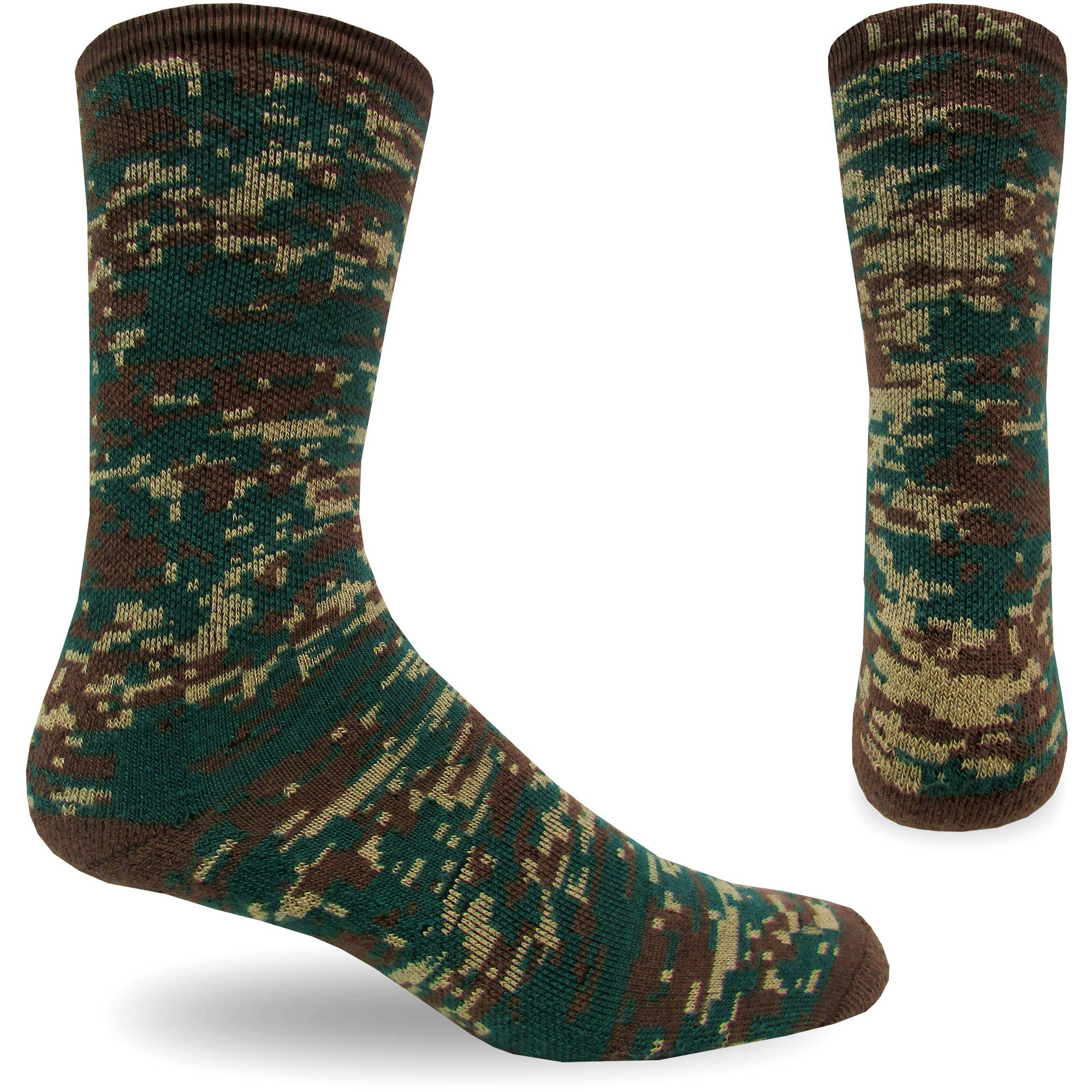 Topsox Digital Camo Lacrosse Sock, Half Cushion Performance with Arch Support