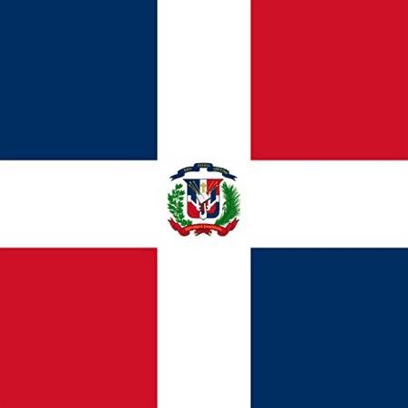 Dominican Republic - World Country National Flags - Vinyl Sticker (Dominican Republic Scrapbooking)