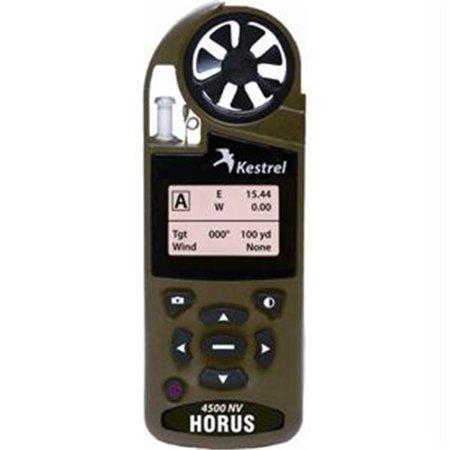 Kestrel 4500 Pocket Weather Meter w/HORUS Ballistics Software & Bluetooth - Desert Tan Night Vision