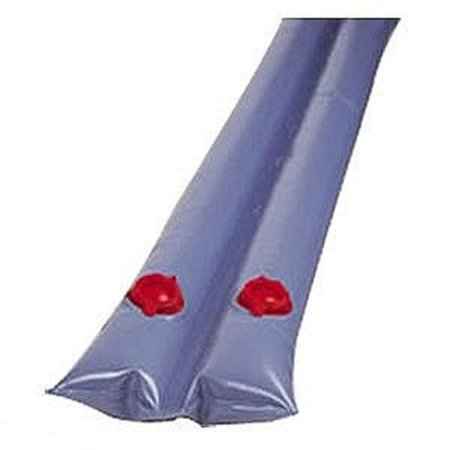 8' Dual Chamber Blue Water Tube for In-Ground Swimming Pool Winter Closing (Pool Closing Supplies)