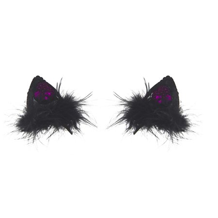 Ganz Clip On Cat Ears  Halloween Costume Sexy Pussy Cat (Pink) - Halloween Clip Art Cat