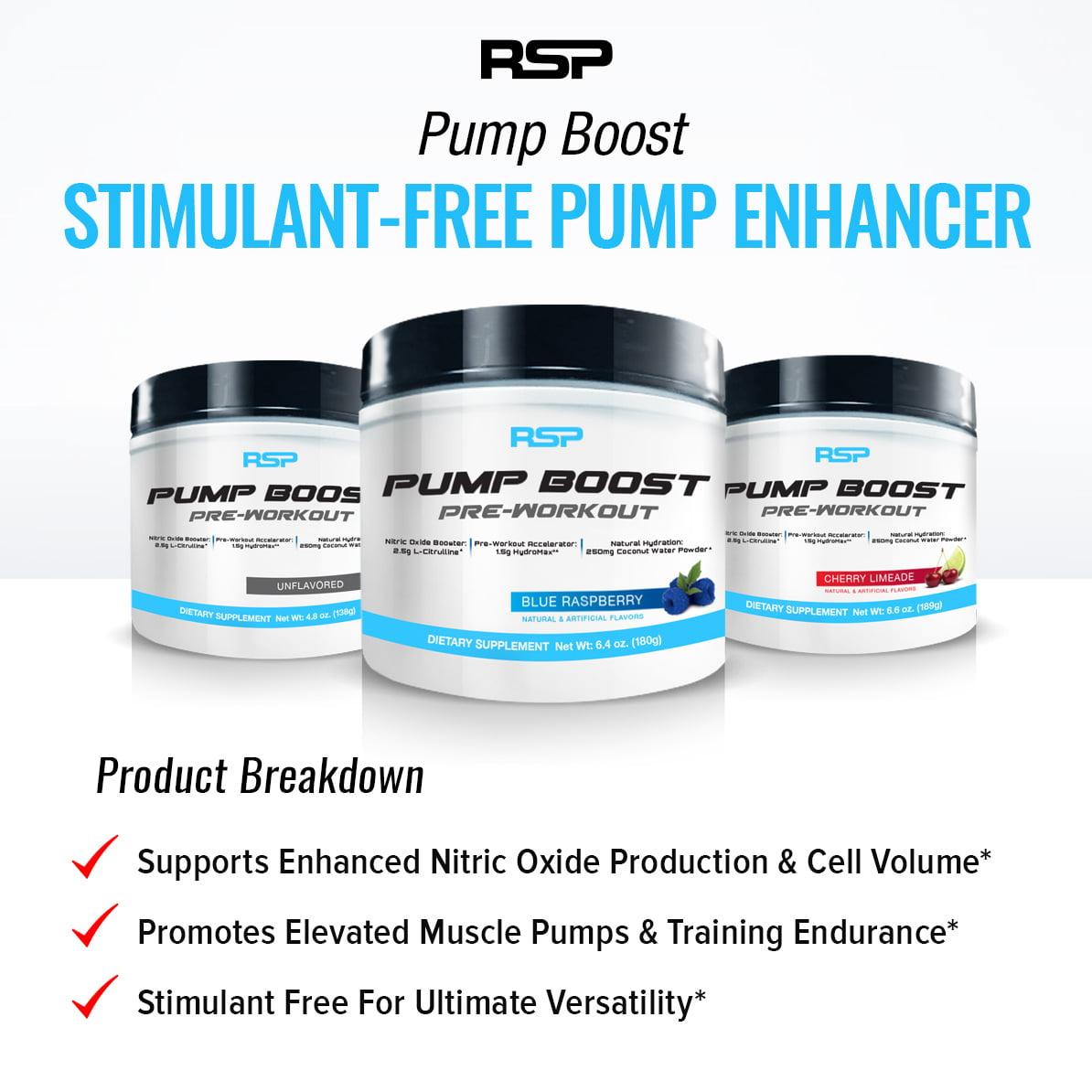 All Stars Pump Booster Test rsp nutrition pump boost - stimulant free pre workout, pump