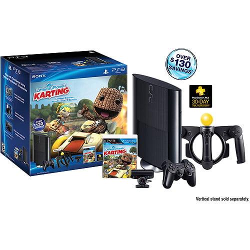 PlayStation 3 250GB Little Big Planet Karting Move Wal-Mart Exclusive Bundle