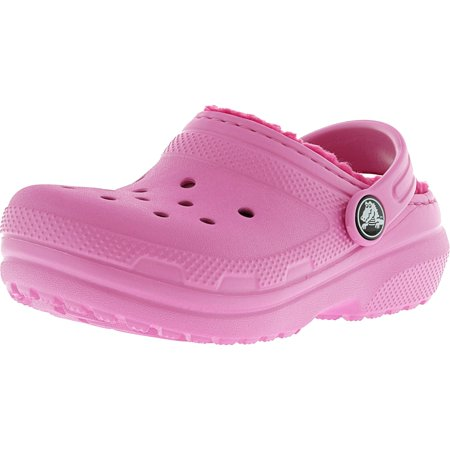 75cd0959bf23 Crocs Classic Lined Clog Party Pink   Candy Rubber Slipper - 7M -  Walmart.com
