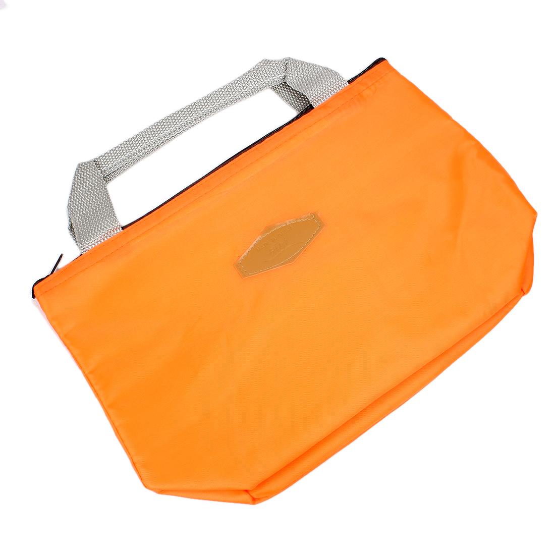 Portable Thermal Insulated Cooler Picnic Lunchbox Drink Tote Storage Bag Orange