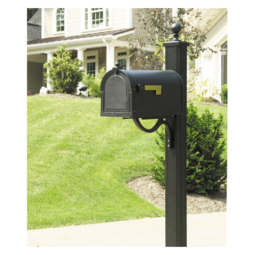 Special Lite Products Berkshire Curbside Mailbox with Post Included