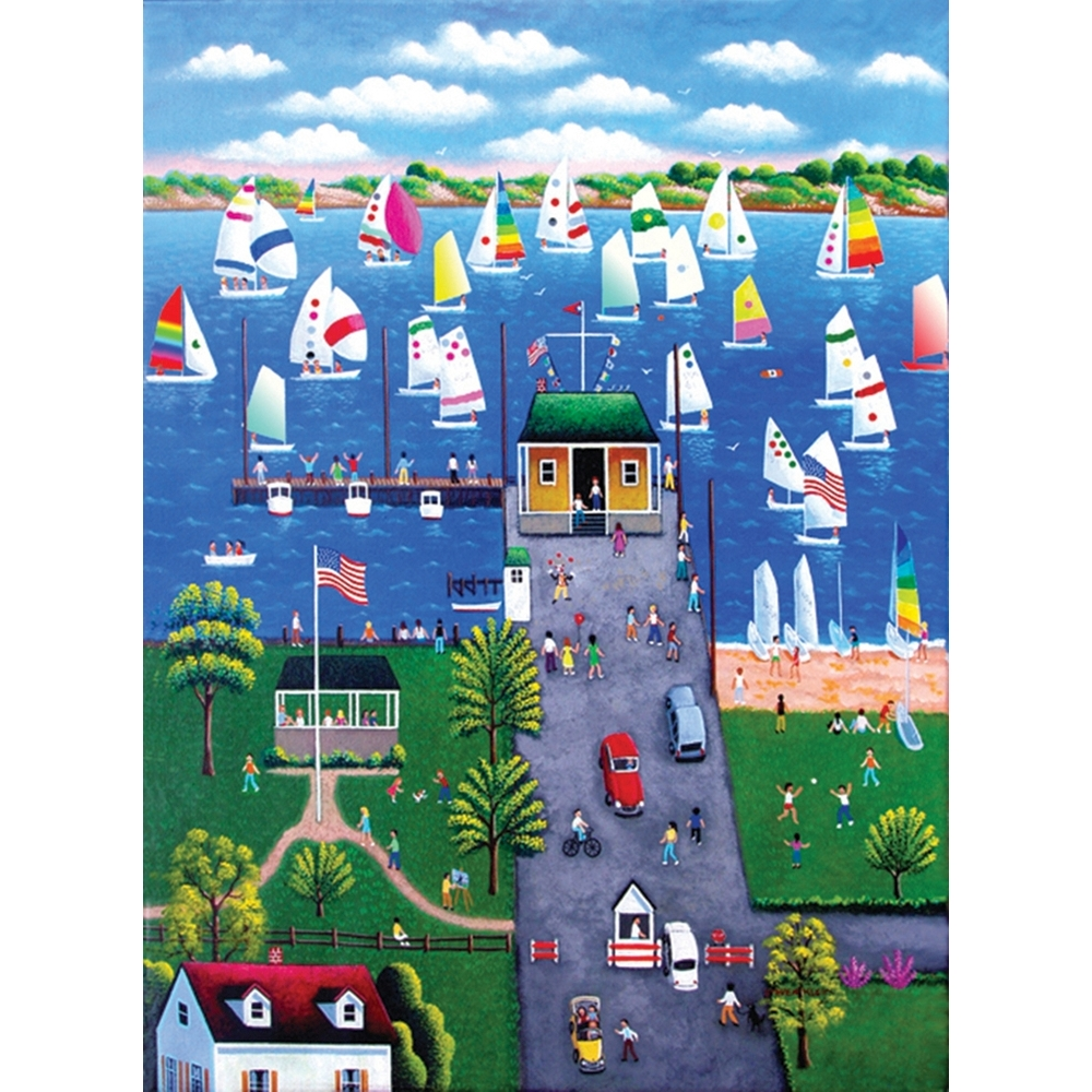 Regatta 500 Piece Puzzle