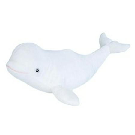 Cuddlekins Beluga Whale Plush Stuffed Animal by Wild Republic, Kid Gifts, Ocean Animals, 12 Inches (Wild Republic Humpback Whale)