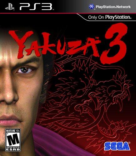Sega Yakuza 3 Action adventure Game Playstation 3 (69039) by Sega