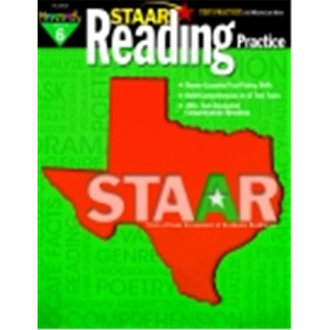 Newmark Learning Reading Practice With Sample Tests Book, Grade 6