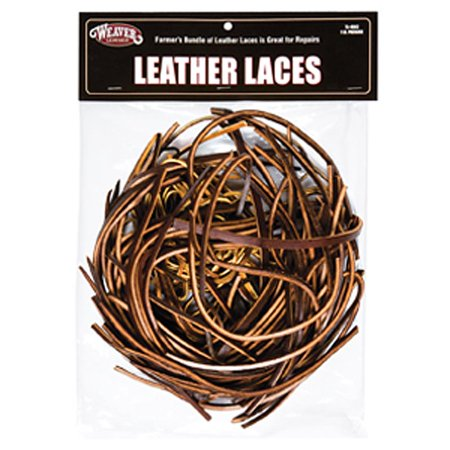 WL-75-4903 LEATHER LACES BY WEAVER LEATHER SADDLE REPAIR WESTERN TACK (Best Weaver Horse Feeds)