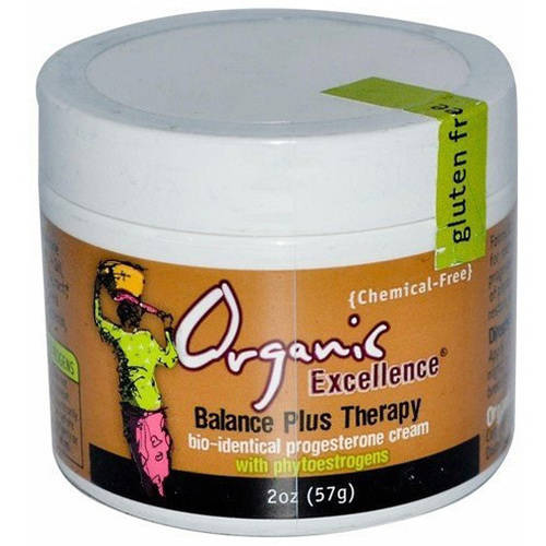 Organic Excellence Balance Plus Therapy Cream, 2 OZ