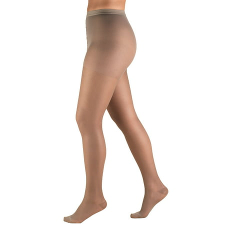 - Truform Sheer Pantyhose: 15-20 mmHg, Taupe, Tall