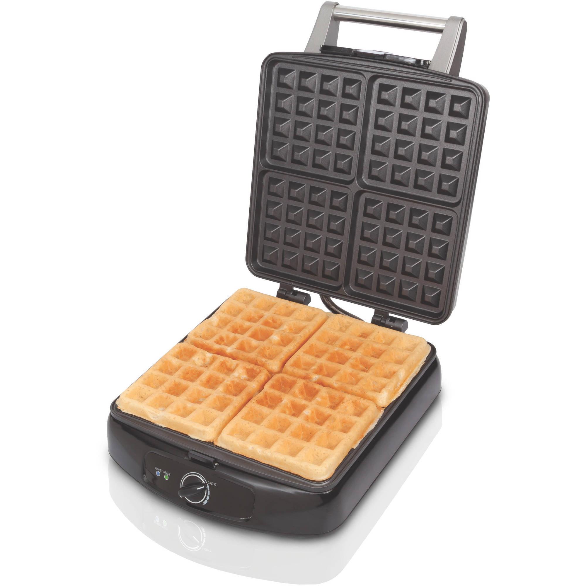 Farberware 4 Slice Waffle Maker, 1 Each
