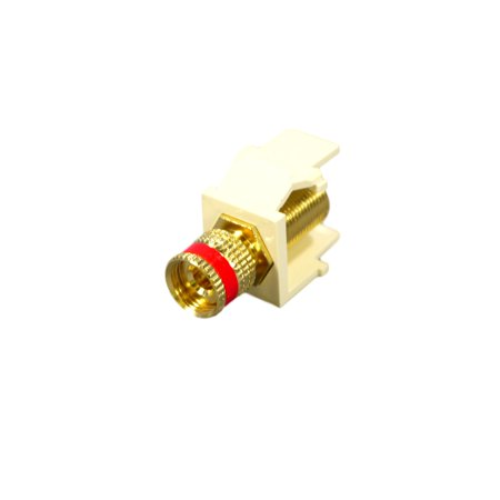 leviton r03-40833-00a gold plated solderless binding -