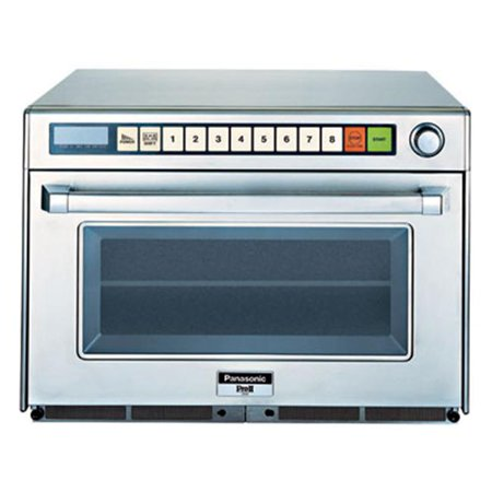 Panasonic NE-2180 2100 Watt Commercial Microwave Oven with Sonic Steamer