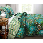 Global Trends Tahiti Bedding Quilt Set, Multicolor