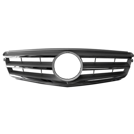 Chrome Grill Assembly for Mercedes-Benz C230, C250, C300, C350 Grille MB1200148