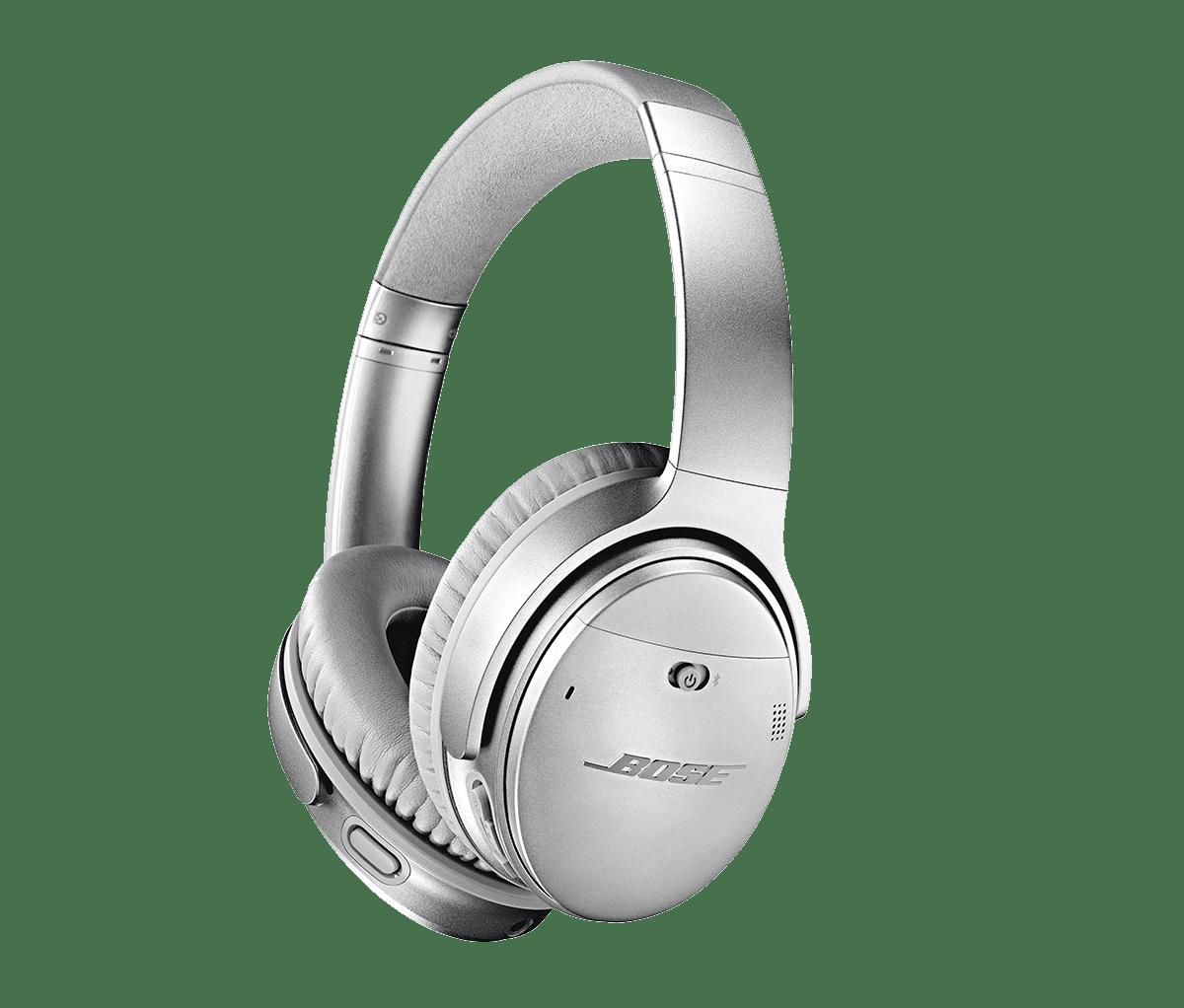 Bose QuietComfort 35 wireless headphones II with Google Assistant - Silver