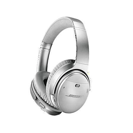Bose QuietComfort 35 Wireless Noise Cancelling Headphones II with Google Assistant - Silver