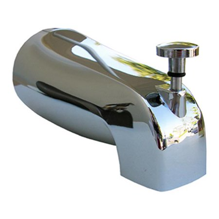 Larsen Supply 08-1057 Universal Style Bath Tub Diverted Spout, Chrome - image 1 of 1