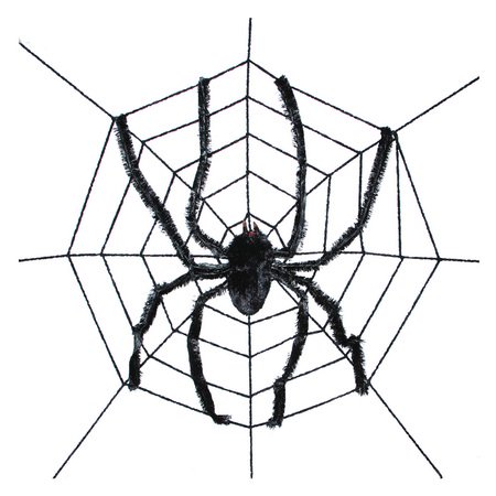 8FT Spider Web Halloween Decoration