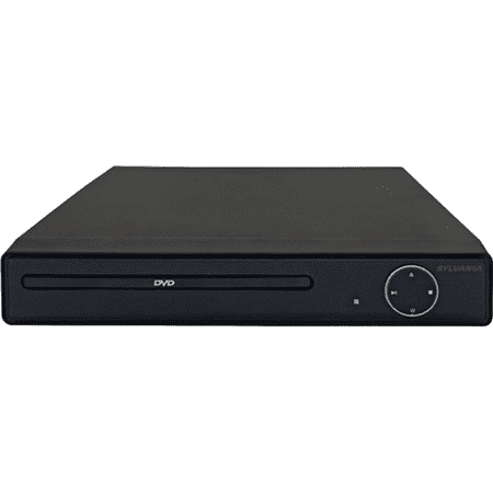 Sylvania DVD Player with MP3 Playback/JPEG Viewer Black SDVD6656 - Manufacturer Refurbished (Dvd Player And Viewer)