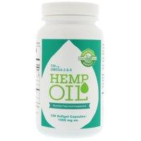Manitoba Harvest Hemp Oil Soft Gels, 120 Ct