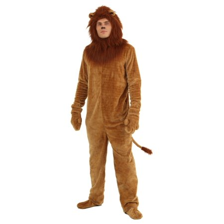 Plus Size Deluxe Lion Costume (Lion Costume For Teens)