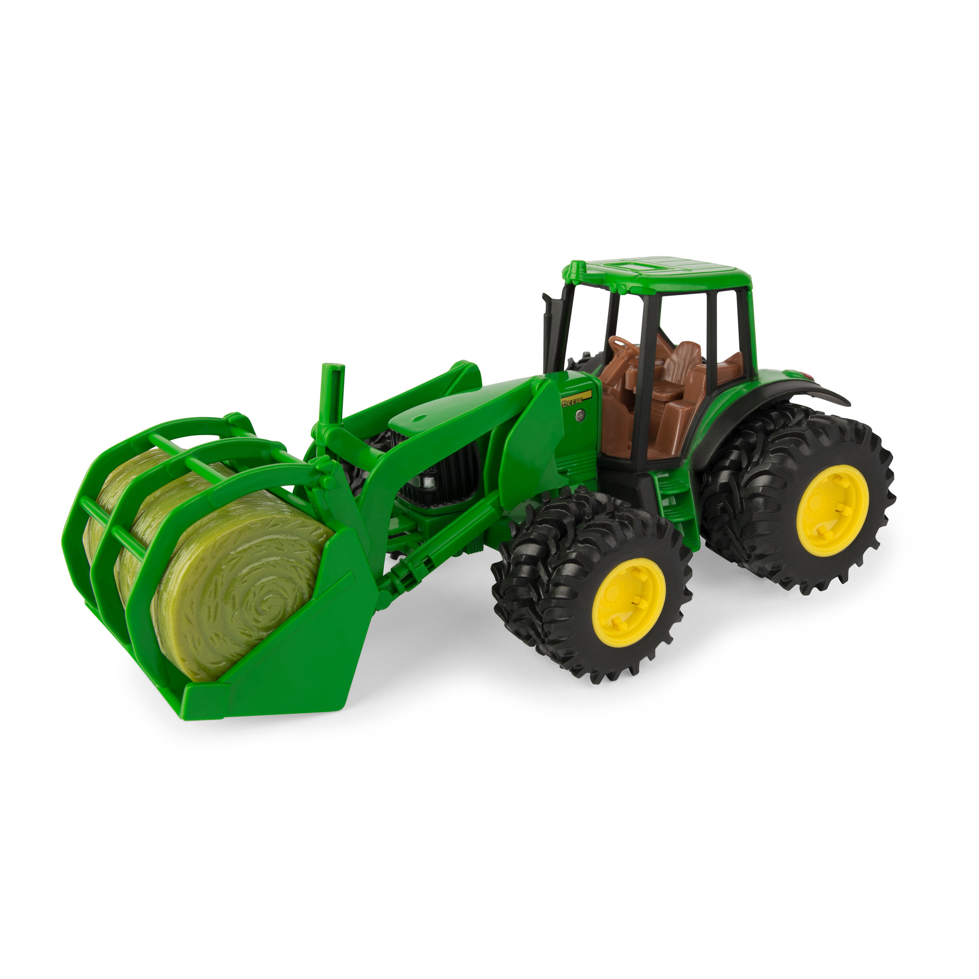John Deere 1:16 Scale 7220 Tractor with Bale Mover