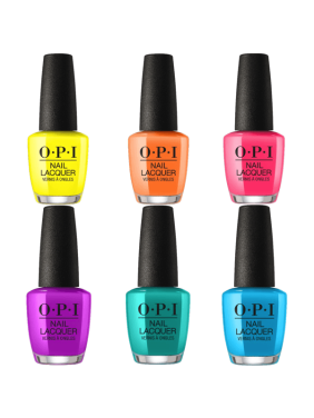 OPI Nail Polish, 6-Piece Neon Collection, 0.5 fl oz each
