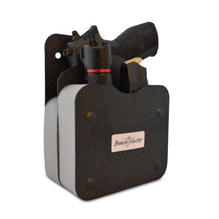 Gun Rack Accessories - BenchMaster Single Gun Pistol Rack w/Front Accessory Holder