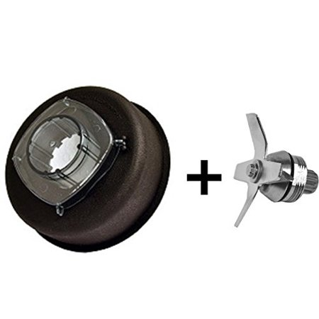Ice Blade and Complete Two-Piece Lid and Plug, Replaces Vita-Mix 1151 &