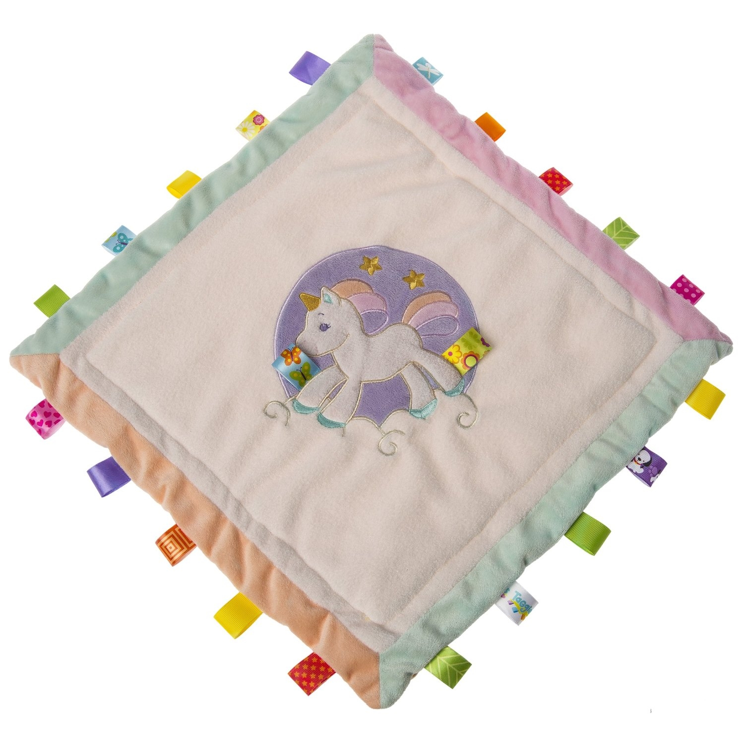 Mary Meyer Taggies Dreamsicle Unicorn Cozy Security Blanket