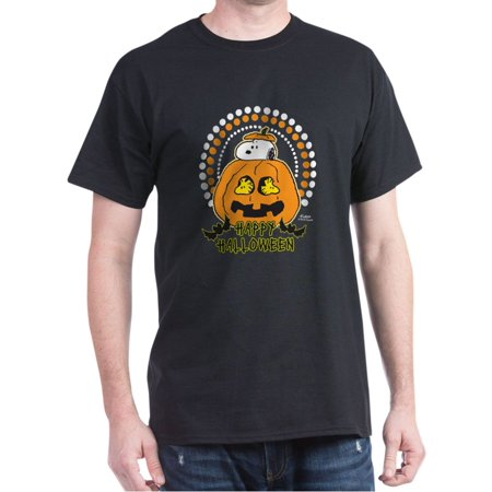 Snoopy Pumpkin - Snoopy And Woodstock Pumpkin - 100% Cotton T-Shirt